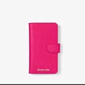 Michael Kors folio IPhone X Case
